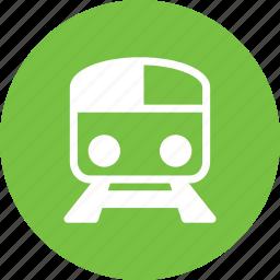 metro, rails, railway, train icon