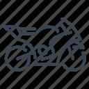 motorcycle, motorbike, sport, bike, race, racing, speed