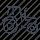 tractor, farm, vehicle