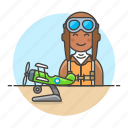 2, aircraft, aviation, aviator, male, pilot, pilots, plane, propeller, scale, transportation icon