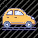 car, city, side, transportation, vehicle, view