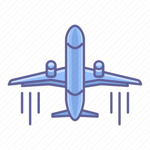 airplane, flight, jet, transportation, travel, vehicle icon