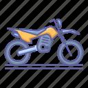 bike, motocross, motorcycle, sport, trail, transportation, vehicle icon