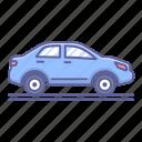 car, side, transportation, vehicle, view