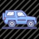 4x4, adventure, car, side, transportation, vehicle, view