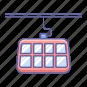 cable, car, train, transportation, vehicle