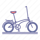 bicycle, bike, transportation, vehicle icon