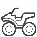 adventure, atv, buggy, extreme, motobike, offroad, vehicle icon