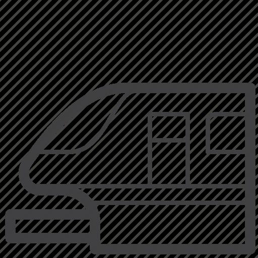 Highspeed, passenger, railway, speed, station, train, travel icon - Download on Iconfinder