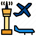 aircraft, airport, plane icon
