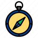 compass, direction icon