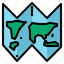 direction, map icon