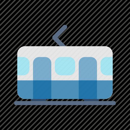 Public, tourism, train, transportation, travel icon - Download on Iconfinder