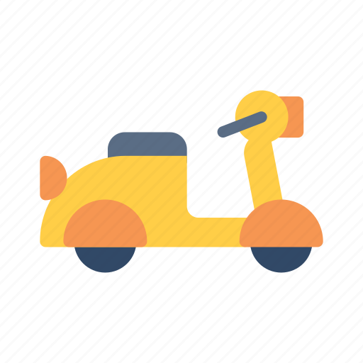 Scooter, tourism, transportation, travel, vacation icon - Download on Iconfinder