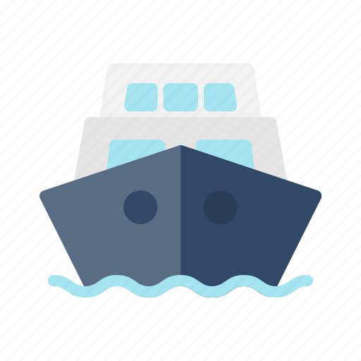 Public, ship, tourism, transportation, travel, vacation icon - Download on Iconfinder