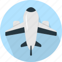 airplane, transportation icon