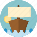 boat, ship icon
