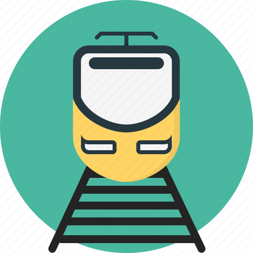 train, transportation icon
