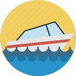 boat, sea, yacht icon