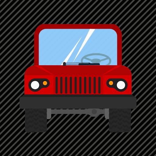 automobile, car, jeep, safari, traffic, transport, vehicle icon
