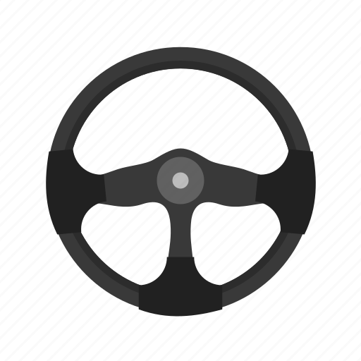 car, circle, round, steering, transport, vehicle, wheel icon