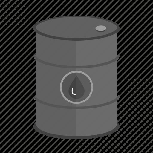 barrel, can, drop, fuel, gasoline, oil, tank icon