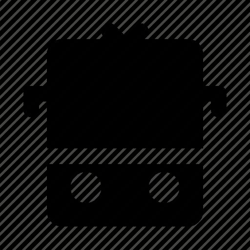 Railway, train, transport, transportation, vehicle icon - Download on Iconfinder
