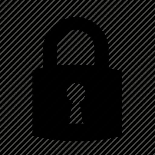 cargo, keyhole, padlock, security, shipping, transport, transportation icon