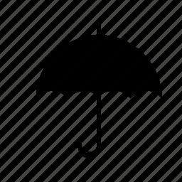 rain, transport, transportation, umbrella icon