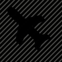 airplane, airport, cargo, plane, shipping, transport, transportation icon