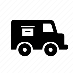 cargo, logistics, shipping, transport, transportation, truck, van icon