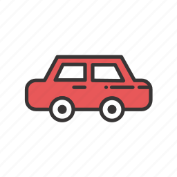 auto, automobile, car, city, common, road, transport, transportation icon