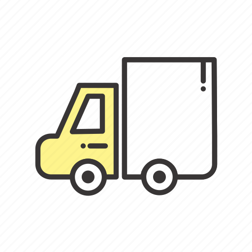 cargo, delivery, logistic, logistics, package, parcel, road, traffic, transport, transportation, truck icon