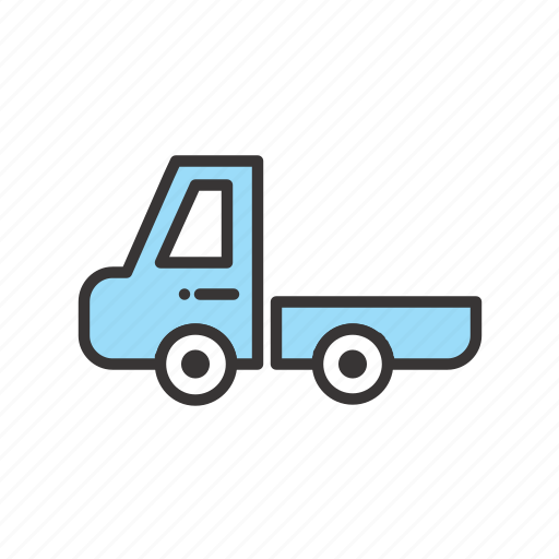 basic, cart, delivery, road, shipping, transportation, transprtation, truck, vehicle icon