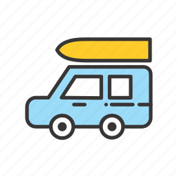 beach, delivery, holiday, holidays, jeep, summer, transportation, travel, vacation icon