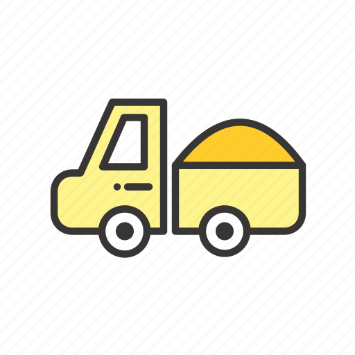 cargo, dining, diving, logistic, logistics, mine, mining, transportation, truck icon