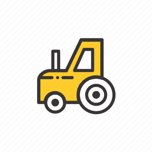 agriculture, farm, farming, garden, nature, tractor, transport, transportation, vehicle icon