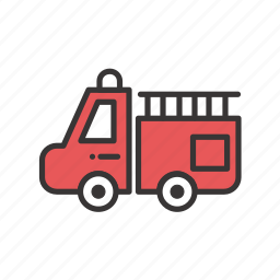 automobile, fighter, fire, fire fighter, flame, shipping, train, transport, transportation icon