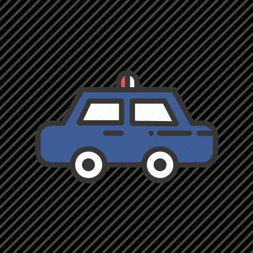 car, law, police, service, transport, transportation, vehicle icon