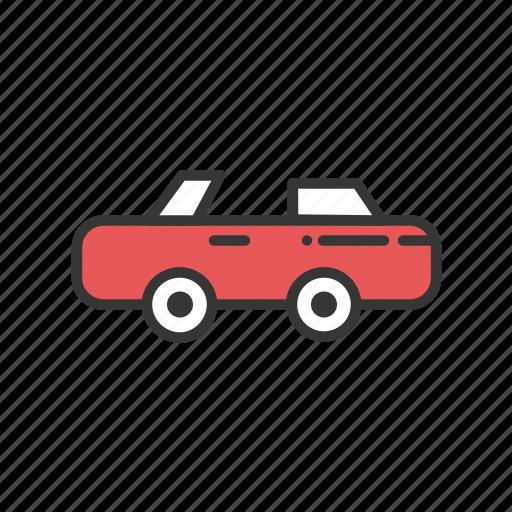 automobile, car, play, sport, sports, transport, transportation icon