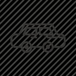 auto, automobile, car, city, common, service, transport, transportation icon