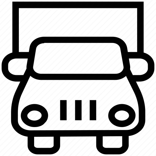 cargo, cargo vehicle, delivery truck, front truck, goods transport, lorry, shipping truck, truck icon