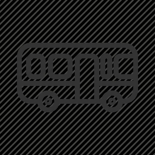 Bus, public, transportation, travel icon - Download on Iconfinder