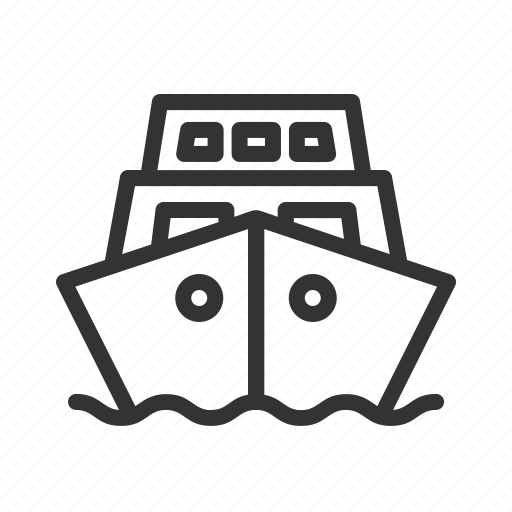 Public, ship, transportation, travel icon - Download on Iconfinder