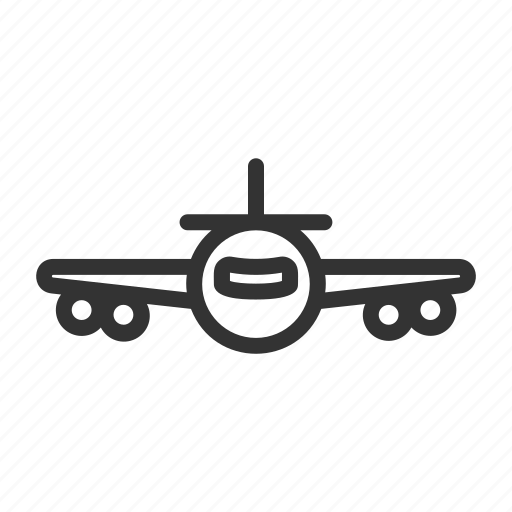 Plane, public, transportation, travel icon - Download on Iconfinder