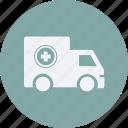 ambulance, and, automobile, car, service, transportation, transpot, travel, vehicle icon