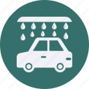 and, automobile, car, service, transportation, transpot, travel, vehicle, wash icon