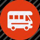 and, automobile, car, caravan, service, transportation, transpot, travel, vehicle icon