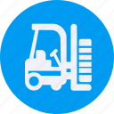 and, automobile, car, forklift, service, transportation, transpot, travel, vehicle icon