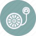 and, car, pressure, service, transportation icon
